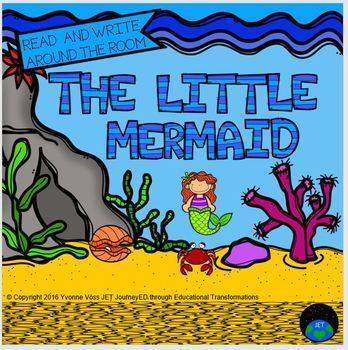 Read and Write Around the Room The Little Mermaid