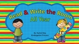 Read and Write Around the Room for the Whole Year: Bundled