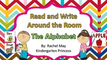 Read and Write Around the Room the Alphabet