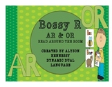 Read and Write Around the Room with Bossy R! (AR and OR)