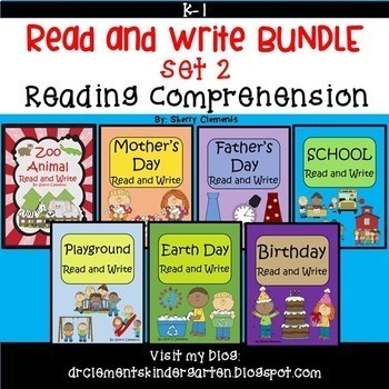 Reading Comprehension Passage Bundle Distance Learning