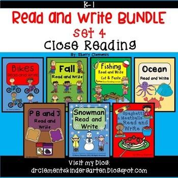 Read and Write Bundle (Set 4) (Close Reading)
