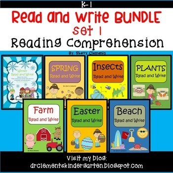 Read and Write Bundle 1 (Winter, Spring, Insects, Plants,