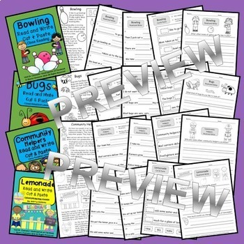 Read and Write Bundle (set 5) Close Reading