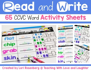 Read and Write CCVC Words