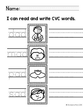 Read and Write CVC Words