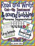 RTI Cut-Up Sentences and Sound Bubbles {Super Sentences}