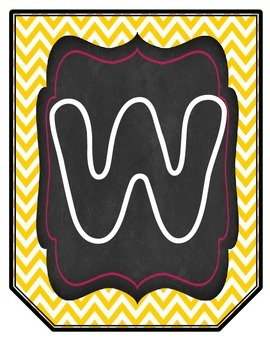 Read and Write Large Flag Banners- Chalk&Neon