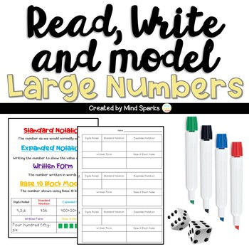 Read and Write Large Numbers (Expanded and Written form)