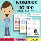 Read and Write Numbers To 100 Activity Pack (1.NBT.1) | Di