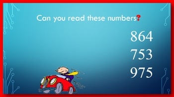 Read and Write Numbers to 1000 PowerPoint