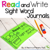 Read and Write Sight Word Journal
