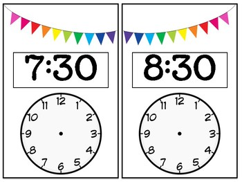 Read and Write Time Cards