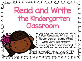 Read and Write the Kindergarten Classroom