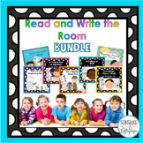 Parts of Speech,Rhyming,Read & Write the Room Bundle K-1