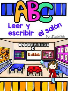 Spanish Read and Write the Room/  Centro de leer y escribi
