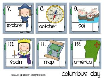 Read and Write the Room: Columbus Day (Bilingual!)