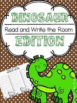 Read and Write the Room- DINOSAUR EDITION!