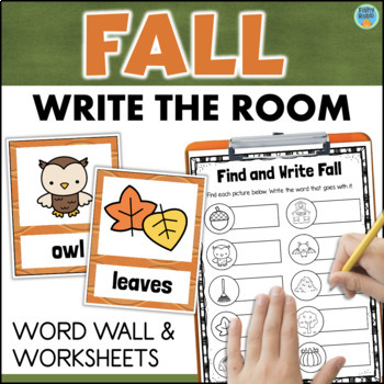 Write the Room Activities for FALL
