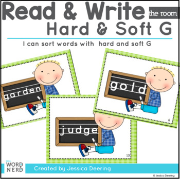Read and Write the Room- Hard and Soft G