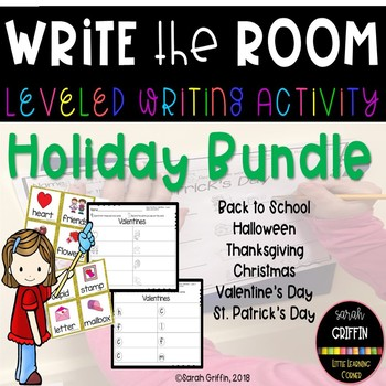 Read and Write the Room - Holiday Bundle