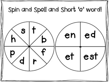 Literacy Centers for Long and Short Vowels BUNDLE