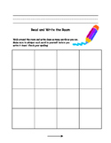 Read and Write the Room Literacy Activity