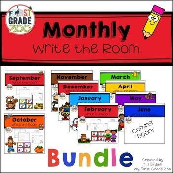 Read and Write the Room - Monthly Bundle