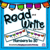 Math Center for Numbers to 30
