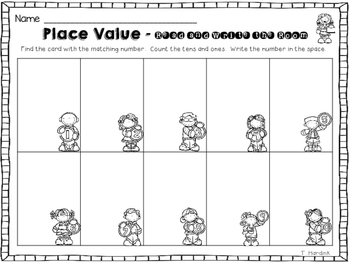 Read and Write the Room - Place Value