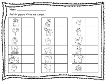 Read and Write the Room Place Value for Ones and Tens
