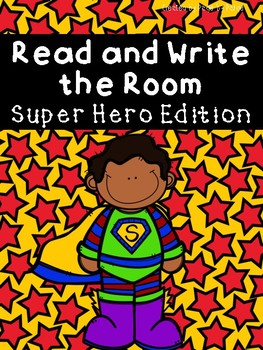 Read and Write the Room-SUPERHERO EDITION!
