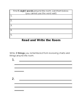 Read and Write the Room Station Response