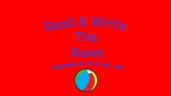 Read and Write the Room -al, sh, th