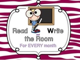 Read and Write the Room for EVERY Month