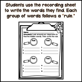 Write the Room for First Grade Phonics