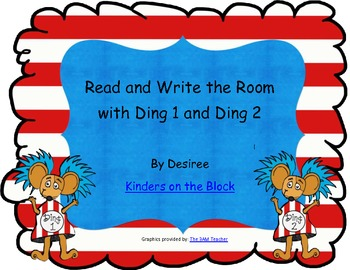 Read and Write the Room with Ding 1 and Ding 2