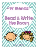 Read and Write the Room with W BLENDS (Orton Gillingham Inspired)