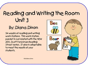 Read and Write the Room work station (Reading Street 2013)