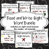Read and Write with Sight Words for Special Education