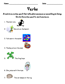 Read and Write with Verbs