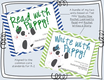 Read and Write with a Puppy! {Bundled Common Core literatu