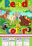 Read and color animal version and catalogue (free )
