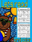 Let's Read and color