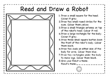Read and draw a robot