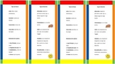 Poetry bookmarks in spanish