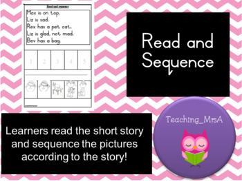 Read and sequence