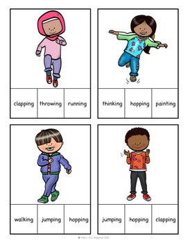 Read and understand words: Clip Cards!