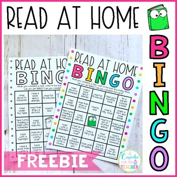 Read at Home BINGO | Distance Learning