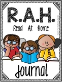 Read at Home Club: {Monthly Journal Log & Awards with BONUS Book Bag Inserts }